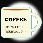 コーヒーと価値観