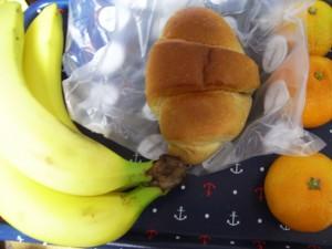 果物と塩バターフランス